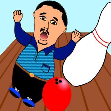 Bowling Valentine by EddyG