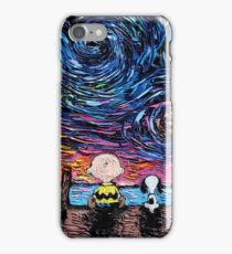 snoopy charly iPhone Case/Skin