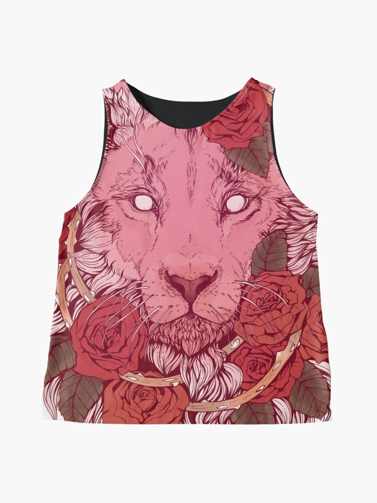 Alternate view of Lion of Roses Sleeveless Top