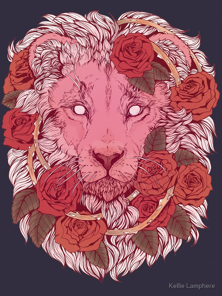 Lion of Roses by plaguedog