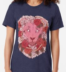 Lion of Roses Tri-blend T-Shirt