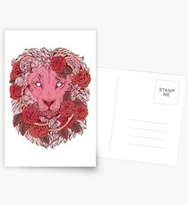 Lion of Roses Postcards