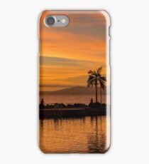 Golden hour in Paradise iPhone Case/Skin