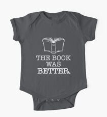The Book Was Better One Piece - Short Sleeve