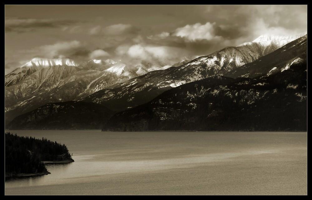 Kootenay Mountains by Robert Mullner