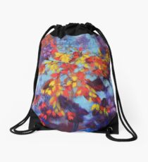 Autumn Pheonix Drawstring Bag