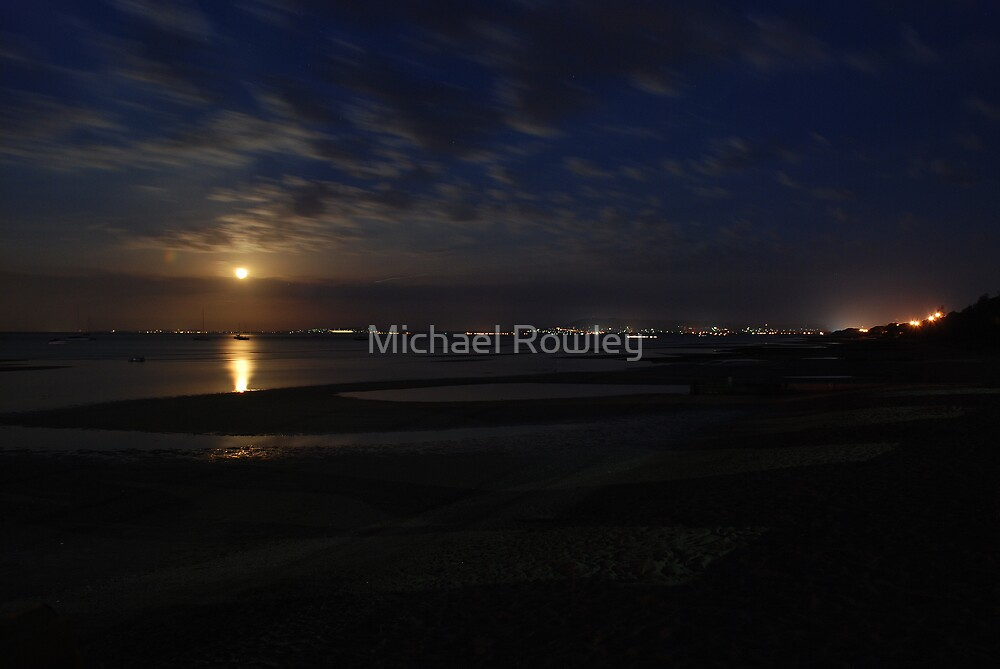Moonlight bay by Michael Rowley