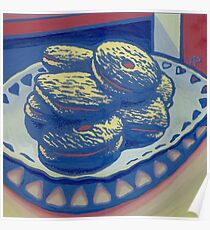 Biscuits still life Poster