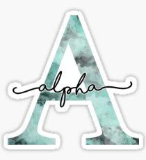 marble watercolor - alpha  Sticker