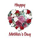Floral Mothers Day Card by Daniel Lucas
