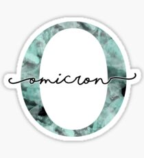 marble watercolor - omicron Sticker