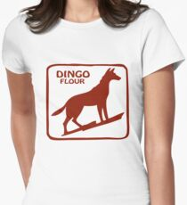 Dingo Flour Women's Fitted T-Shirt