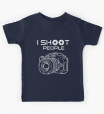 Photography - I Shoot People Kids Tee