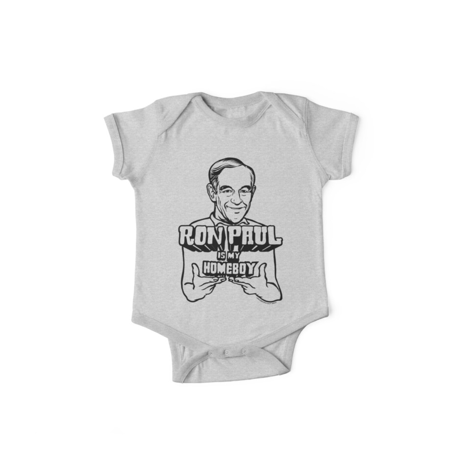 Ron Paul Is My Homeboy by LibertyManiacs