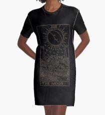 The Moon Tarot Graphic T-Shirt Dress