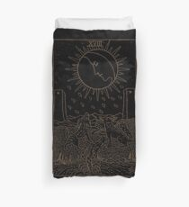The Moon Tarot Duvet Cover