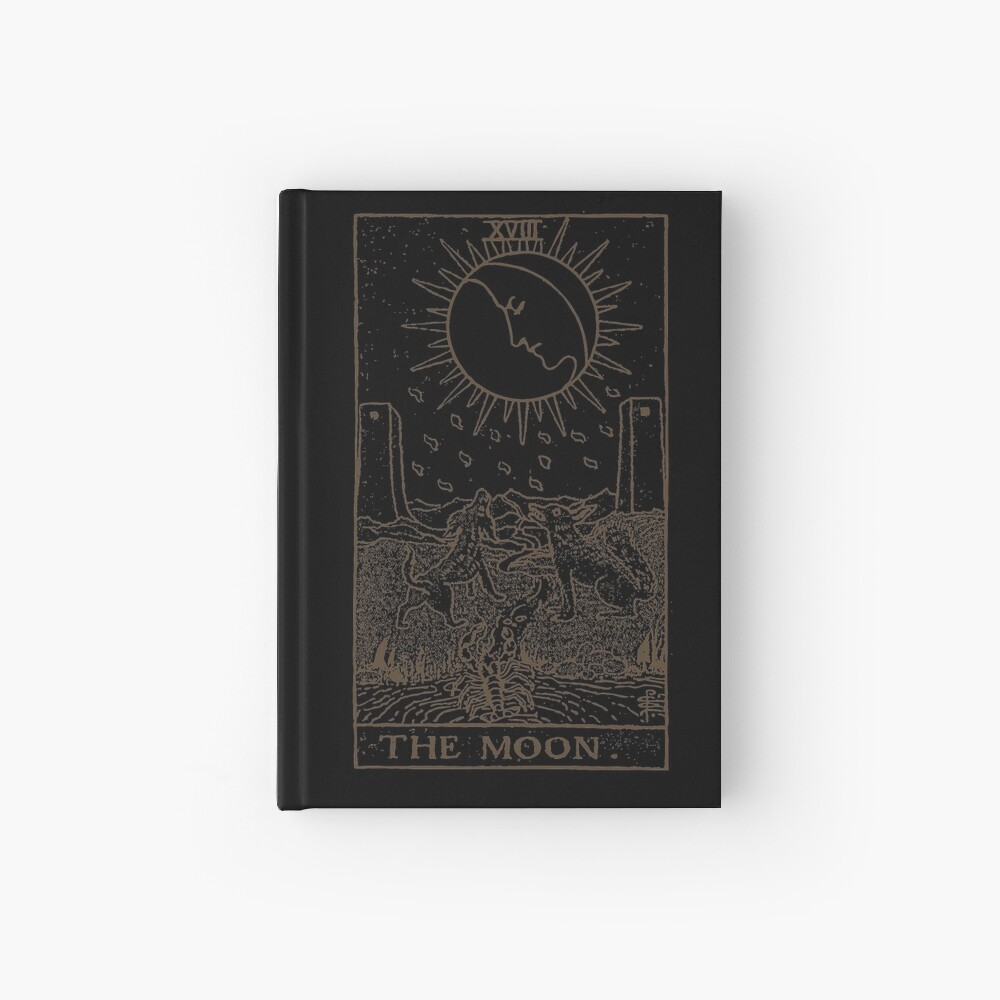 The Moon Tarot Hardcover Journal