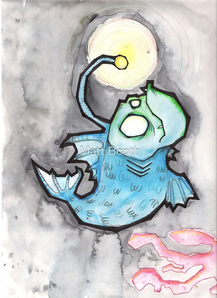 Undersea Monster by Matt Booth
