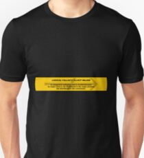 Logical Fallacy - Illicit Major Unisex T-Shirt