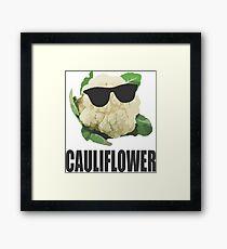 Cool Cauliflower Framed Print