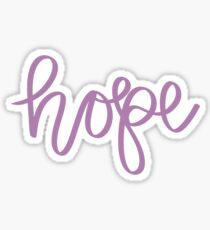 Hope - Calligraphy Sticker