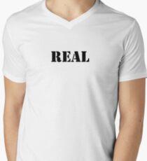 Real (Breasts) Men's V-Neck T-Shirt