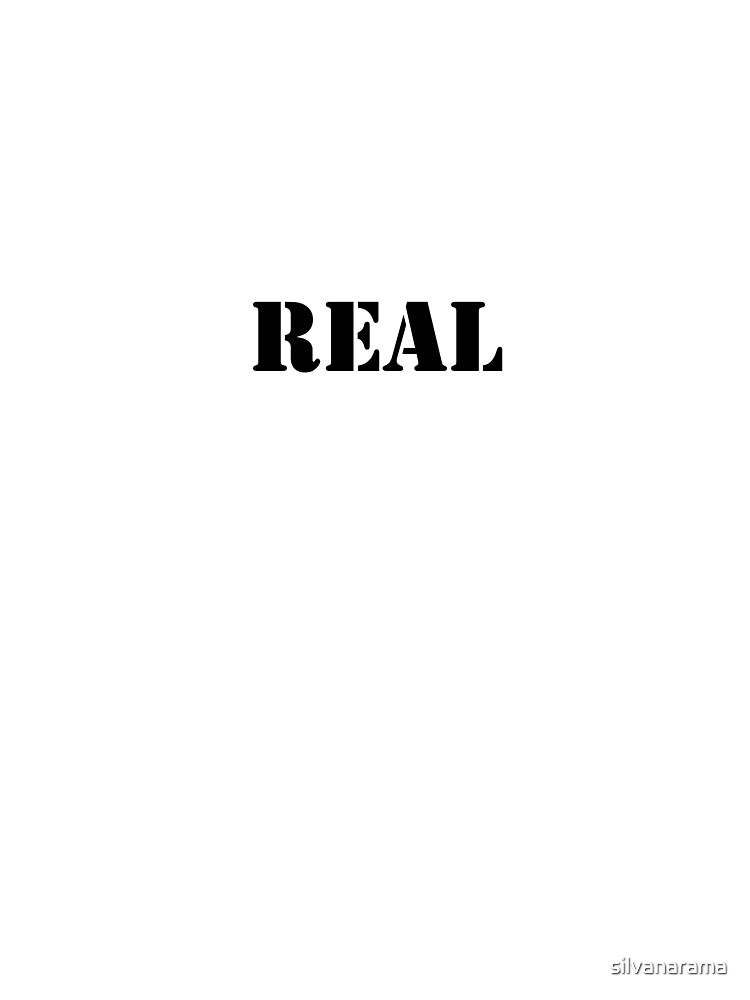 Real (Breasts) by silvanarama