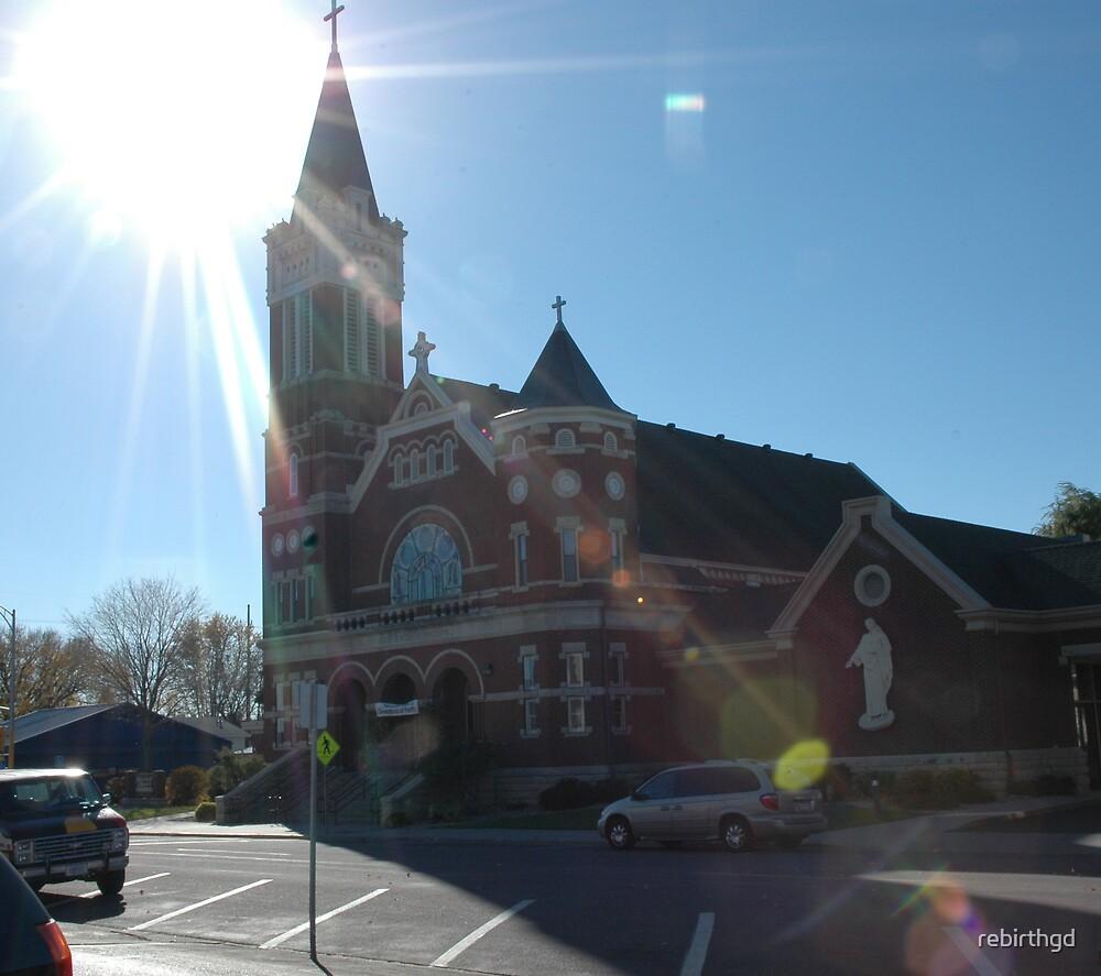 Church in Minnasota by rebirthgd