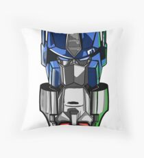 Megaprime small logo Throw Pillow