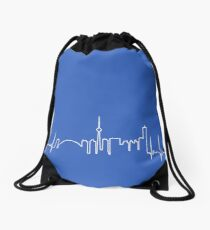 Toronto Heartbeat Drawstring Bag