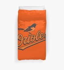 Baltimore Orioles Duvet Cover