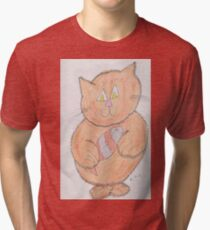 cuddley kitty Tri-blend T-Shirt