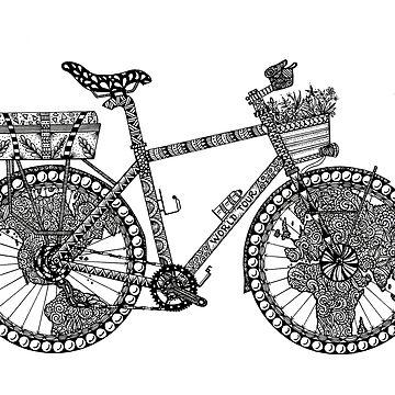 World Tour Bike by ivysanchez