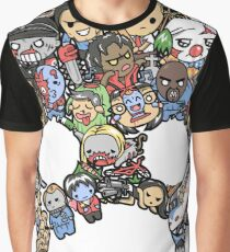 Scary Lil Zombies Graphic T-Shirt
