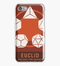 Science Posters - Euclid - Mathematician iPhone Case/Skin