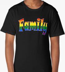 Rainbow Family Gay / lesbian Interest - from Bent Sentiments Long T-Shirt