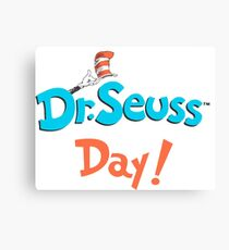 Dr Seuss Day Canvas Print