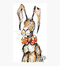Mr. Cottontail Photographic Print