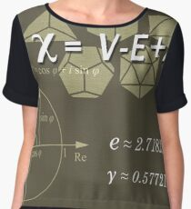 Science Posters - Leonhard Euler - Mathematician, Physicist, Engineer Chiffon Top