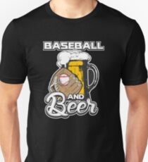 Baseball And Beer Unisex T-Shirt