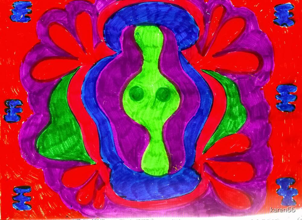 Mandala Psychedelic by karen66
