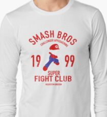 Mushroom Kingdome Fighter Long Sleeve T-Shirt