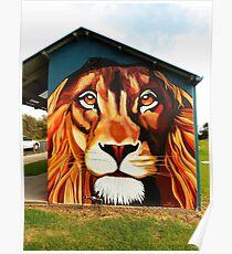 Lion's Head Poster