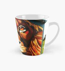 Lion's Head Tall Mug