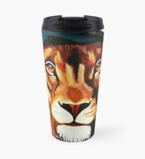 Lion's Head Travel Mug