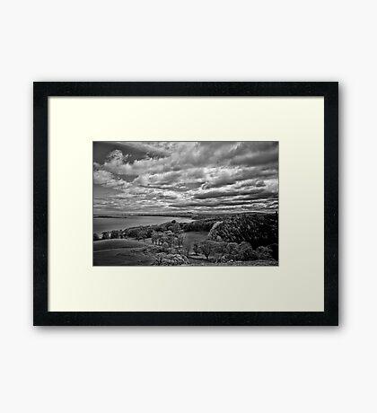 Edinburgh from the Dalmeny Estate Framed Print