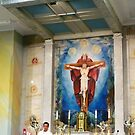 Altar at St Gabriel's by TonyCrehan