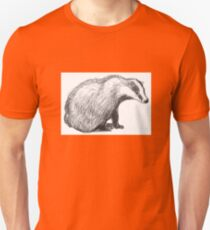 The Thinking Badger Unisex T-Shirt