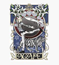 Agape Love Photographic Print