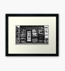 BLOODY KIDS! Framed Print